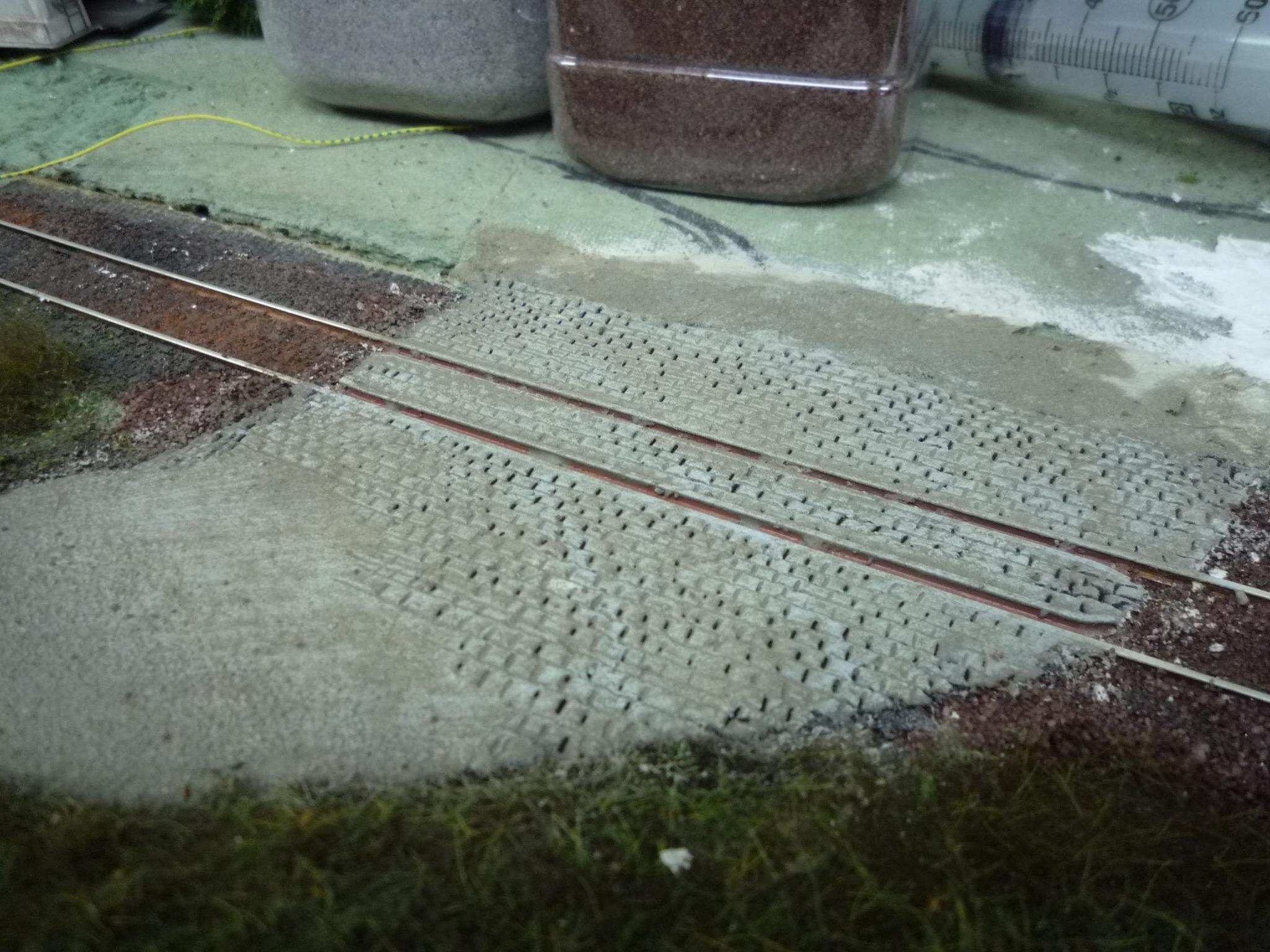 Quais ho comment faire le train de jules - Peindre des paves autobloquants ...