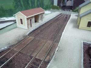 Quai gare St Antonin.