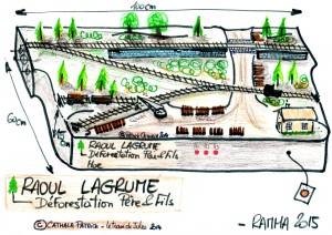 Raoul Lagrume Croquis